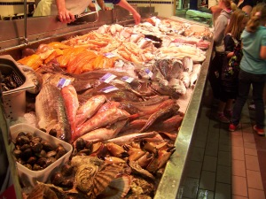 Seafood at the English Market, Cork