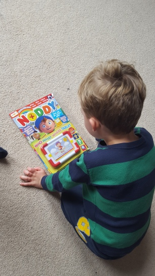 First issue of Noddy magazine with its own tablet.