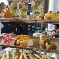 Afternoon Tea - Colonnades at the Signet Library, Edinburgh (No Tots)