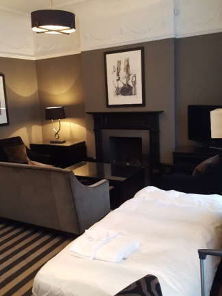 The Rothesay Suite with Mr Child's bed in place.